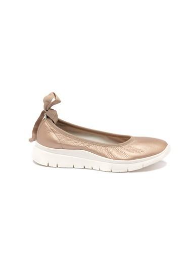 Frau 0As9W2019947 Kadın Yazlık Ayakkabı Altın